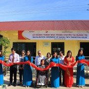 USAID supports the launch of Quang Tri province's first transition house.
