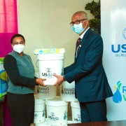 These supplies will help limit COVID-19 cases and fight other communicable diseases in six regions of the country.