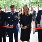 Ribbon-Cutting Ceremony for the Inaugration of the Concert Hall at  Lazo Micev Rale Music School in Kavadarci