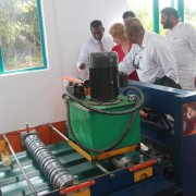 USAID Helps Ampara Manufacturer Develop Eco-friendly Roofing Products