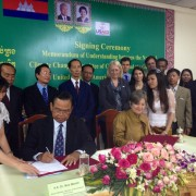 United States, Cambodia Sign  Emissions Reduction Agreement