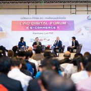 Panel Discussion at the 3rd Lao Digital Forum