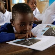 """Education serves as a driver for all other development and for the reduction of extreme poverty."""
