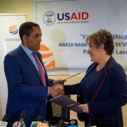 Image of USAID and Awash Bank DCA partnership in Ethiopia