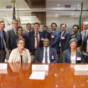 The South Africa Department of Science and Technology signed a Memorandum of Understanding (MOU) with the U.S. Agency for Intern