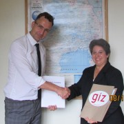 USAID committed $2 million over a two-year period. German agreed to match the contribution.