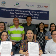USAID Initiates Partnership to Upgrade Water and Sanitation Services in Tagbilaran