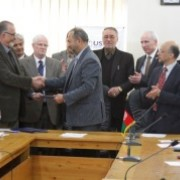 USWDP and Kabul Medical University Sign Letter of Agreement for Bio Medical Engineering Technology Program