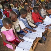 Access to grade-appropriate reading texts is key to improving the reading skills of one million Ugandan  children