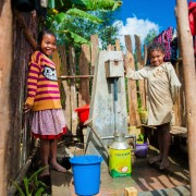 The United States Government has officially launched the opening of new clean water systems in two communes that brings fresh, clean water to over 10,000 people.