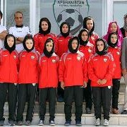 Twenty female football players left Afghanistan on Sept. 14 for a nine-day trip to Hiroshima, Japan.