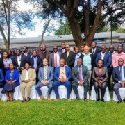 Group photo of attendees to the Zambia Trade Information Portal Launch on February 19, 2020