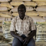 Abdou Mbodj, a rice producer of the Senegal river valley