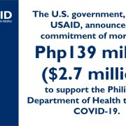 U.S., DOH Partner to Combat COVID-19 in the Philippines