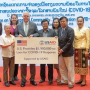 U.S. Ambassador Dr. Peter M. Haymond announced additional funding of nearly $2 million from the United States in support of the Lao PDR in response to the global spread of the novel coronavirus disease COVID-19