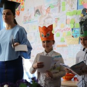 Reading class in Kutaisi school