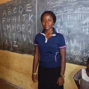 An inclusive education teacher in her classroom