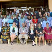 Participants and instructors from the Landscape Climate-Smart Agriculture Pilot Course.