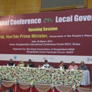 More than 500 government officials participated at the Local Governance Conference. Participantes from Bangladesh and ten other