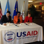 Signing of the Call for Action on South Sudan