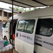 United States Donates Mobile Testing Unit to Fight COVID-19 in Moneragala