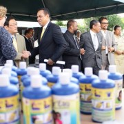 USAID through its partners PSI/Madagascar donated health products to flood victims in Antananarivo