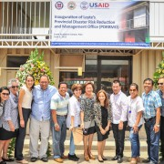 Leyte Inaugurates Newly Established Provincial Disaster Risk Reduction and Management Office