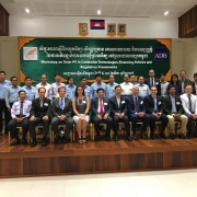 Remarks by Sean Callahan, Acting Mission Director, USAID Cambodia, Cambodia Solar Workshop