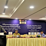 """Remarks by Mr. Bruce Kay, Director, Office of Democracy and Governance, USAID Cambodia, Launch of the """"Collective Action to Support Women's Rights"""" Project"""