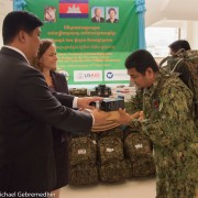 Remarks by Polly Dunford, Mission Director, USAID Cambodia, Handover Ceremony of Forest Ranger Patrol Equipment
