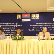 Remarks by Jean-Marc Gorelick, Deputy Director, Office of Democracy  and Governance, USAID Cambodia, Consultation Workshop on Implication of Labor Migration Policy between Cambodia and Thailand