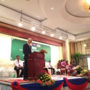 Remarks by Sean Callahan, Acting Mission Director, USAID Cambodia KHANA/IPs Annual Review and Re-planning  and the Launch of KHA