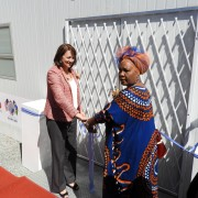 Opening ceremony fro the VMMC clinic in Katutura