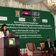 Remarks by Sandra Stajka Director, Food Security & Environment Office, USAID Cambodia