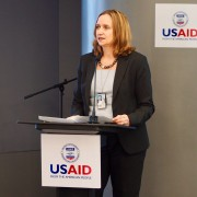 USAID Regional Development Mission for Asia Acting Deputy Director Jessica Zaman