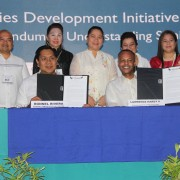 Lawrence Hardy II, Mission Director, Cities Development Initiative (CDI) MOU Signing Between USAID and the City Government of General Santos