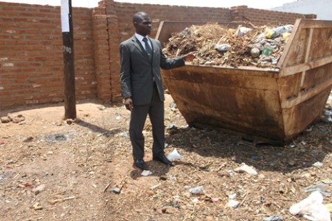 Malawi - DRG - local councilor, sanitation projects