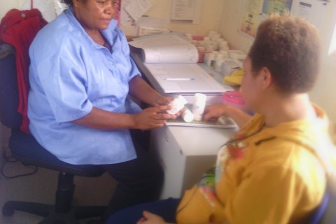 One by One: Papua New Guinea Nurse Champions Patient Care