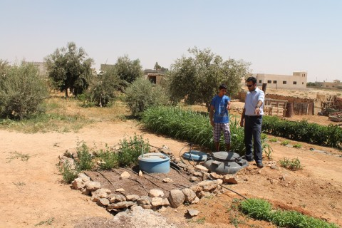 Mafraq, Jordan, water conservation, MercyCorps, #HumanityActs
