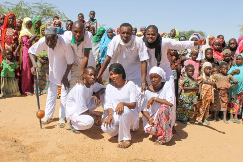 Youth in the Diffa region of Niger call for peace and reconciliation through dance.