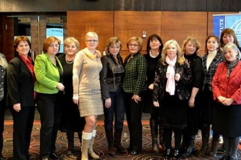 Members of the Federation of BiH Women's Caucus
