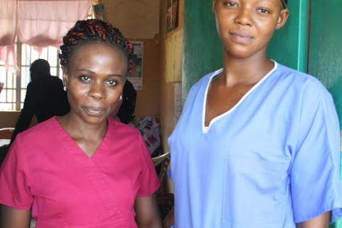 Two community health workers