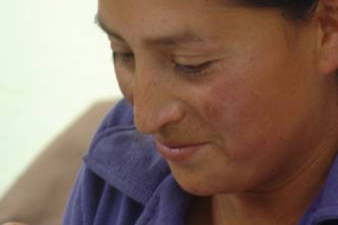 Miriam Sánchez, a founding member of the Comuna Cubinche Women's Sewing Association.