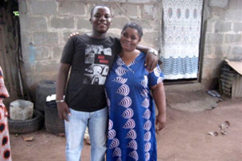 Joy Emmanuel and her son George
