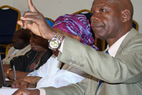 USAID-supported workshops help the Health Commission of National Assembly of Guinea become more transparent.