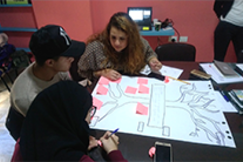 Lebanese, Palestinian, Syrian Youth Help Others Find Their Voice in New USAID Program