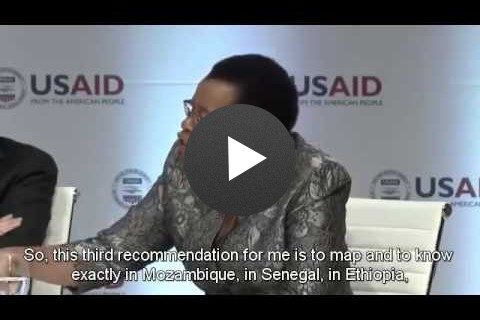 Frontiers in Development 2014 Speaker Highlights - Graça Machel