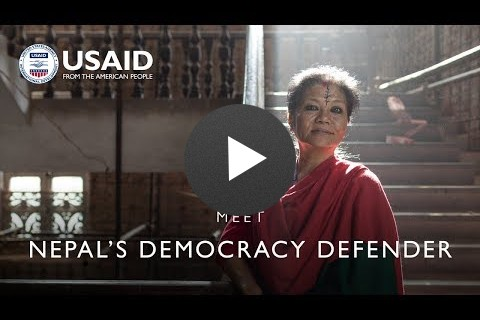 Meet Nepal's Democracy Defender