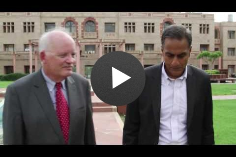 Ambassador Verma in conversation with Jonathan Addleton, USAID