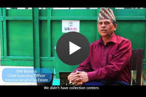 USAID NEAT: Supporting Small Tea Farmers in Nepal